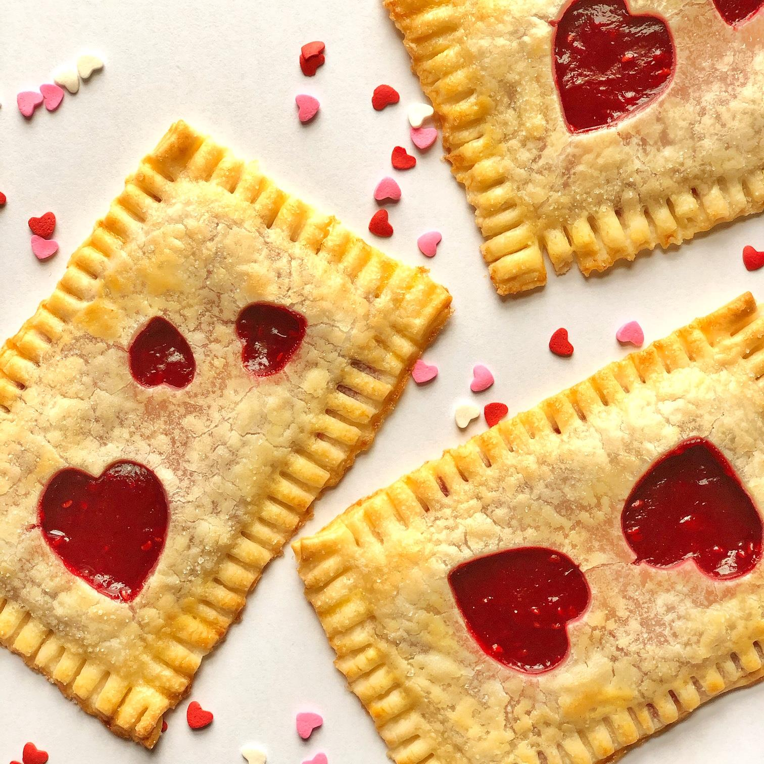 Homemade Pop Tarts at Felt Manor